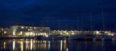 Yachthafen von Boltenhagen bei Nacht
