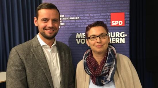 Andreas Walus und Birgit Oestreich